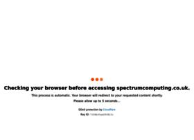 Spectrumcomputing.co.uk thumbnail