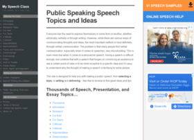 Speech-topics-help.com thumbnail