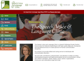 Speechvoice.ca thumbnail