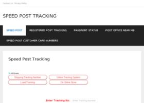 Speedposttrackinginfo.in thumbnail