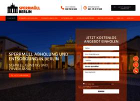 Sperrmuell-berlin.info thumbnail