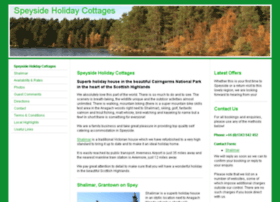 Speysideholidaycottages.co.uk thumbnail