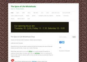 Spiceoflifecardiff.co.uk thumbnail