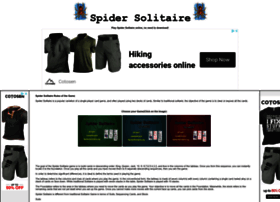 Spidersolitaire.org thumbnail