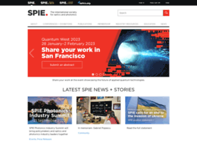 Spie.org thumbnail