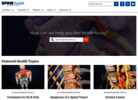 Spine-health.com thumbnail