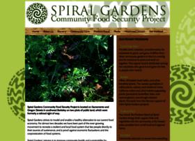 Spiralgardens.org thumbnail