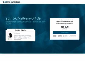 Spirit-of-silverwolf.de thumbnail