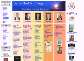 Spiritandtruth.org thumbnail