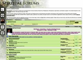 Spiritualforums.com thumbnail