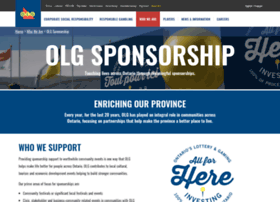 Sponsoredevents.olg.ca thumbnail