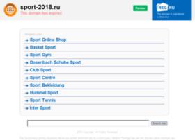 Sport-2018.ru thumbnail
