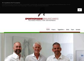 Sporthopaedie-braunschweig.de thumbnail