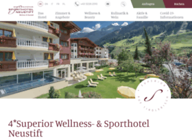 Sporthotel-neustift.at thumbnail