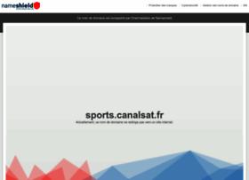 Sports.canalsat.fr thumbnail
