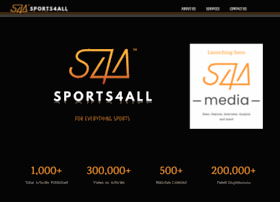 Sports4all.in thumbnail