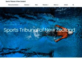 Sportstribunal.org.nz thumbnail