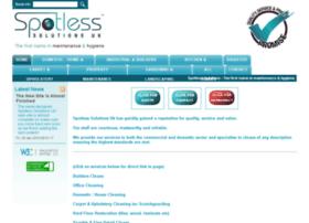 Spotlesssolutions.co.uk thumbnail