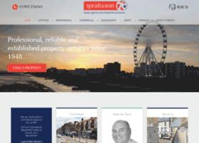 Sprattandson.co.uk thumbnail