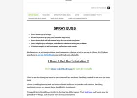 Spraybugs.weebly.com thumbnail