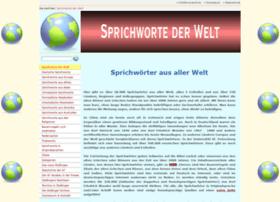 Sprichworte-der-welt.de thumbnail