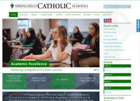 Springfieldcatholicschools.org thumbnail