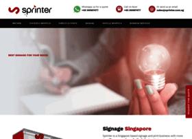 Sprinter.com.sg thumbnail