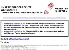 Spritzenfrei.at thumbnail