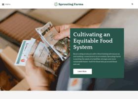 Sproutingfarms.org thumbnail