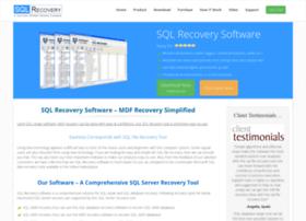 Sqlrecoverysoftware.org thumbnail