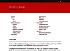 Sqlstyle.guide thumbnail