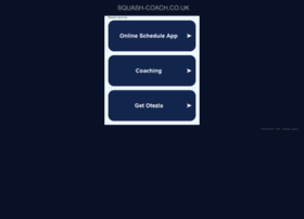 Squash-coach.co.uk thumbnail