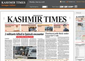 Srinagar.kashmirtimes.com thumbnail