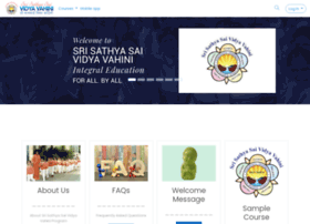 Srisathyasaividyavahini.org thumbnail