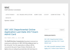 Sscregistration.in thumbnail