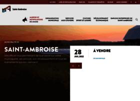 St-ambroise.qc.ca thumbnail
