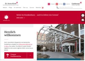 St-anna-klinik-wuppertal.de thumbnail