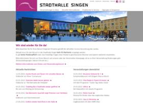 Stadthalle-singen.de thumbnail