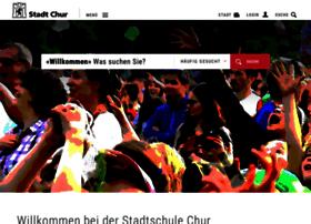Stadtschule.chur.ch thumbnail