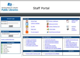 Staff.nlpl.ca thumbnail