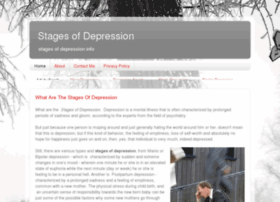 Stagesofdepression.org thumbnail