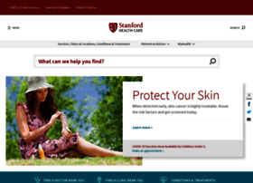 Stanfordhealthcare.org thumbnail