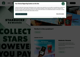 Starbucks.co.uk thumbnail