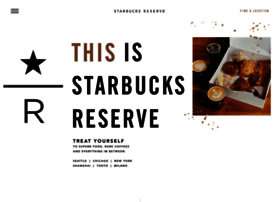 Starbucksreserve.com thumbnail
