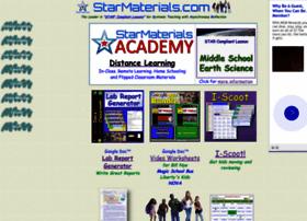 Starmaterials.com thumbnail