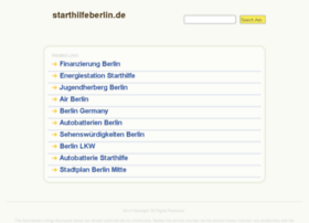 Starthilfeberlin.de thumbnail