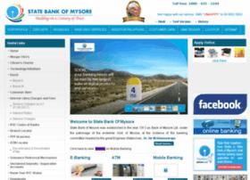 Statebankofmysore.co.in thumbnail