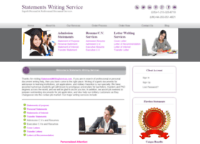 Statementswritingservices.com thumbnail