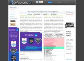 Stayanonymo.us thumbnail