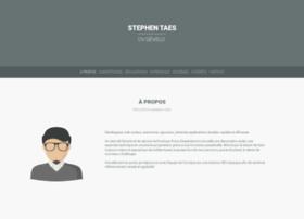 Stephentaes.net thumbnail